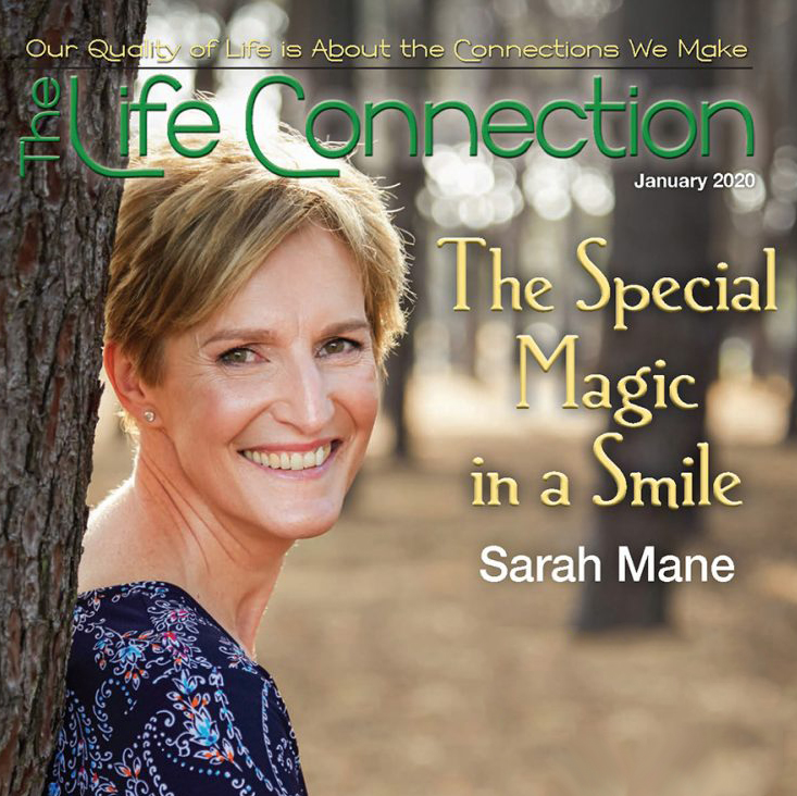 Congratulations Sarah Mane on Article and Cover of Life Connection Magazine